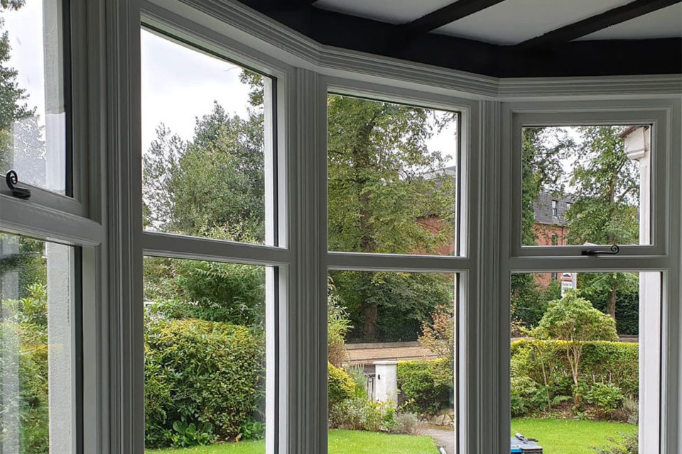 Accoya bay windows fitted in Manchester